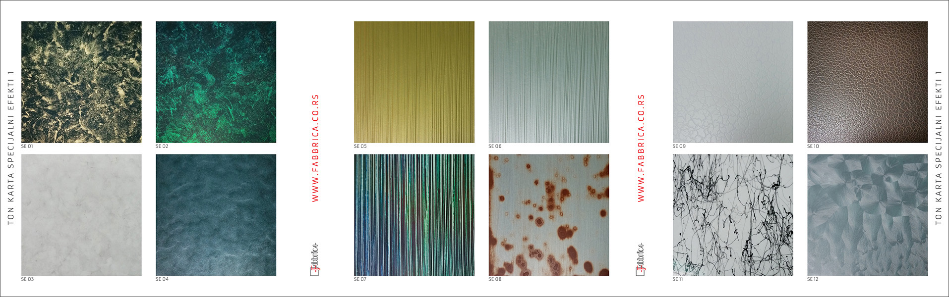 Color Charts Fabbrica